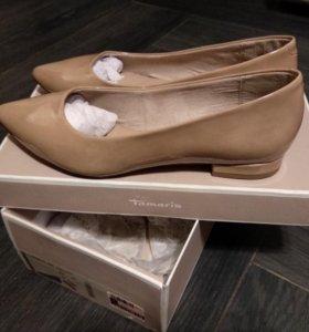 Туфли лаковые Tamaris (новые!)