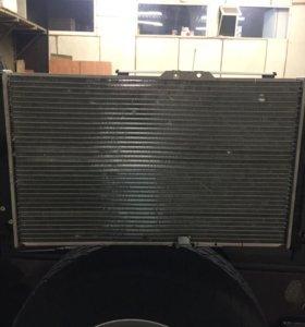 Радиатор системы охлаждения на Дэу Эсперо