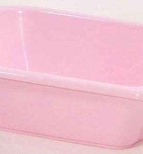 Ванна для девочки розовая