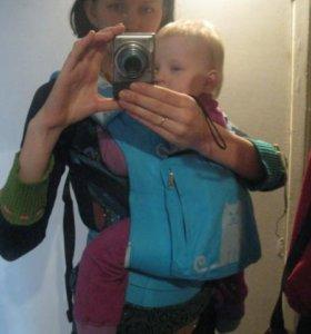 Эрго рюкзак переноска для ребенка