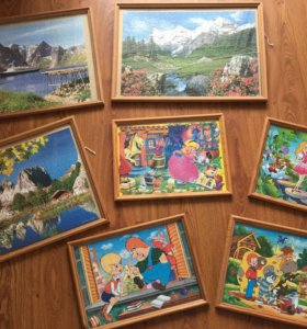 Картины из пазлов