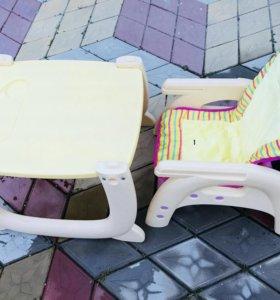 Детский стульчик, стул + стол