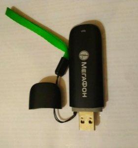 Модем Мегафон ,работа от любых операторов связи.