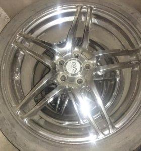 Продам колёса с дисками AVS (япония)