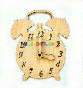 Заготовка для бизиборда часы