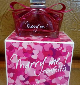 Оригинал. Lanvin marry me confettis