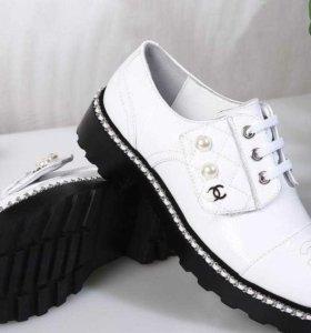 Chanel ботинки женские