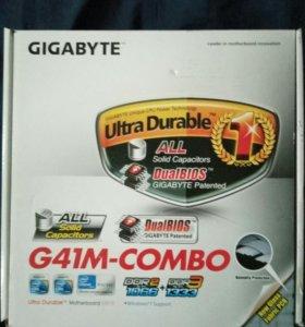 Материнская плата Gigabyte G41M- combo