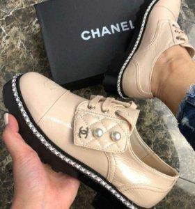 Chanel новые женские ботинки