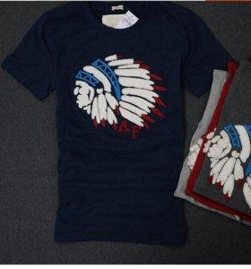 Крутая футболка с индейцем
