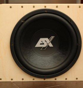 Продам SQ сабвуфер автомобильный ESX SX1240