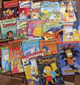Комиксы про Симпсонов