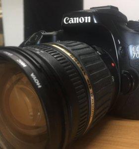 Продаю отличный фотоаппарат CANON 70D