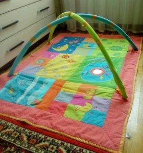 Детский большой развивающий коврик