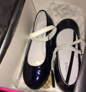 Туфли нат кожа(лак)новые