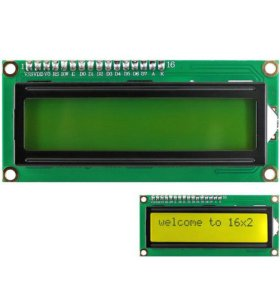 LCD 1602 для arduino