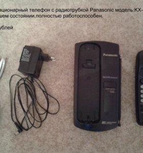 Домашний телефон с беспроводной трубкой