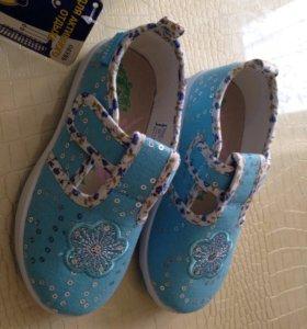 Туфли детские для девочки котофей