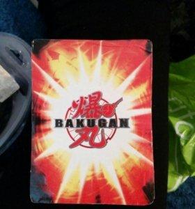 Карточки магнитные Бакуган