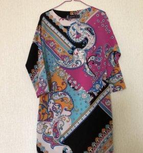 Яркое платье размера 40-42
