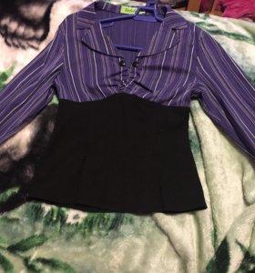 Блузка...с корсетом