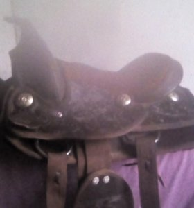 Седло ковбойское на пони