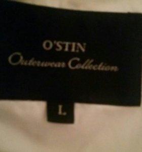 Белый пуховичок фирмы Остин