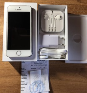 iPhone 5s Silver 64 GB