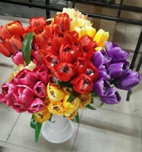 Цветы,венки,корзины.