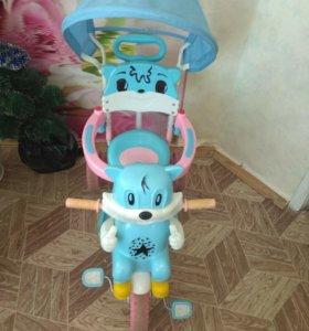 Велосипед детский с музыкой