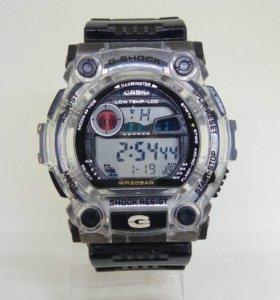 Прозрачные водонепроницаемые часы