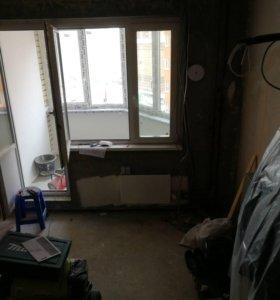 Окна и балконная дверь