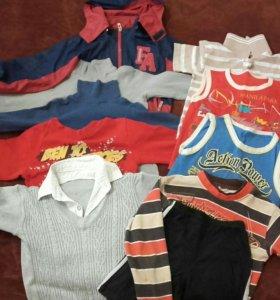 Вещи мальчику 6-8 лет пакетом