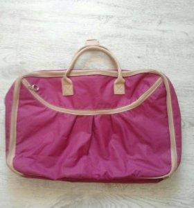 Дорожная сумка-чемодан,новая