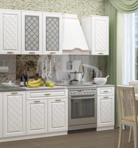 Акция! Кухонный гарнитур белая классика!
