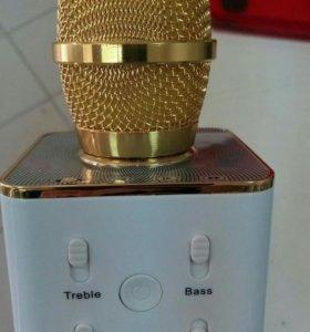 Мр3 плеер + микрофон караоке
