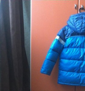 Зимняя куртка для мальчика рост 116