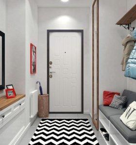 Входная дверь с установкой Гарда 8 мм Белый Ясень