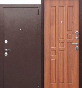 Входная дверь с установкой Гарда 8 мм Рустикальный