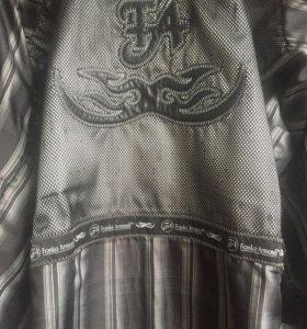 Кожаный пиджак Franco armondi