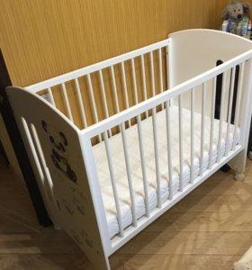 Кроватка детская laluca Софи