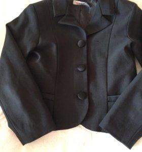 Пиджак школьный д/девочки 122р