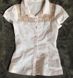 Блузка школьная 134