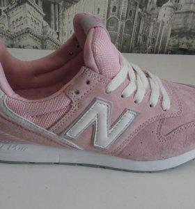 Кроссовки NB розовые