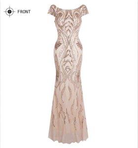 Продам новое шикарное выпускное платье