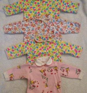 Вещи пакетом для девочки от 3 месяцев до 1 года
