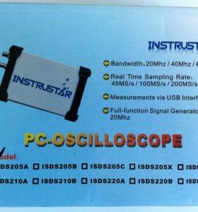 Осциллограф цифровой ISDS205A INSTRUSTAR 20МГц USB