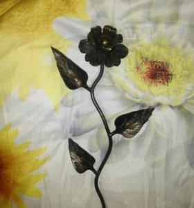 Кованый цветок!
