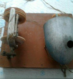 Электропрялка для пряжи шерсти
