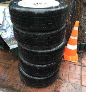Оригинальные диски Lexus с резиной 225/60/r17 99H
